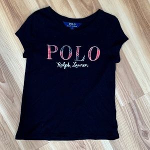Little girls Polo Ralph Lauren t-shirt